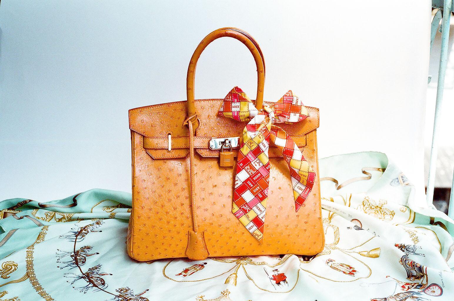 Hermes-Ostrich-Birkin-Bag