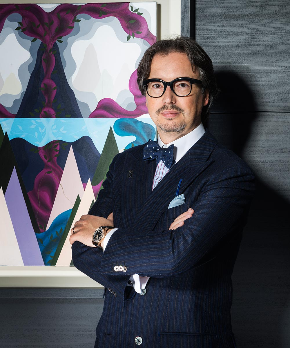 Davide Cerrato Is Montblanc's Watch Division Director
