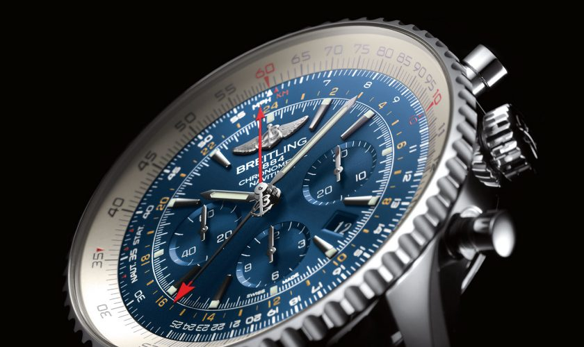 Breitling-Navitimer-GMT-Aurora-Blue