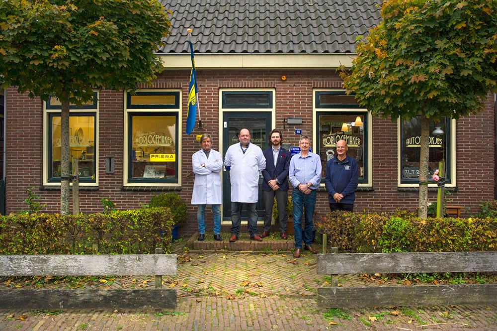 The group of Dutch watchmakers