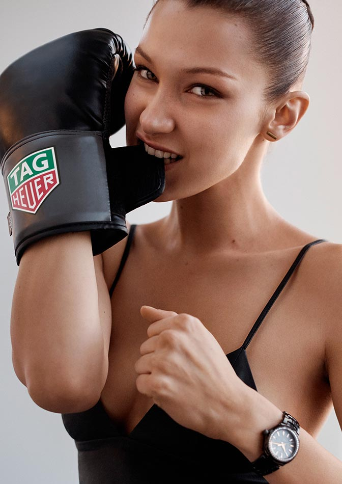 Bella Hadid is TAG Heuer's new ambassador