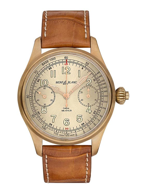 Montblanc 1858 Chronograph Tachymeter Limited Edition