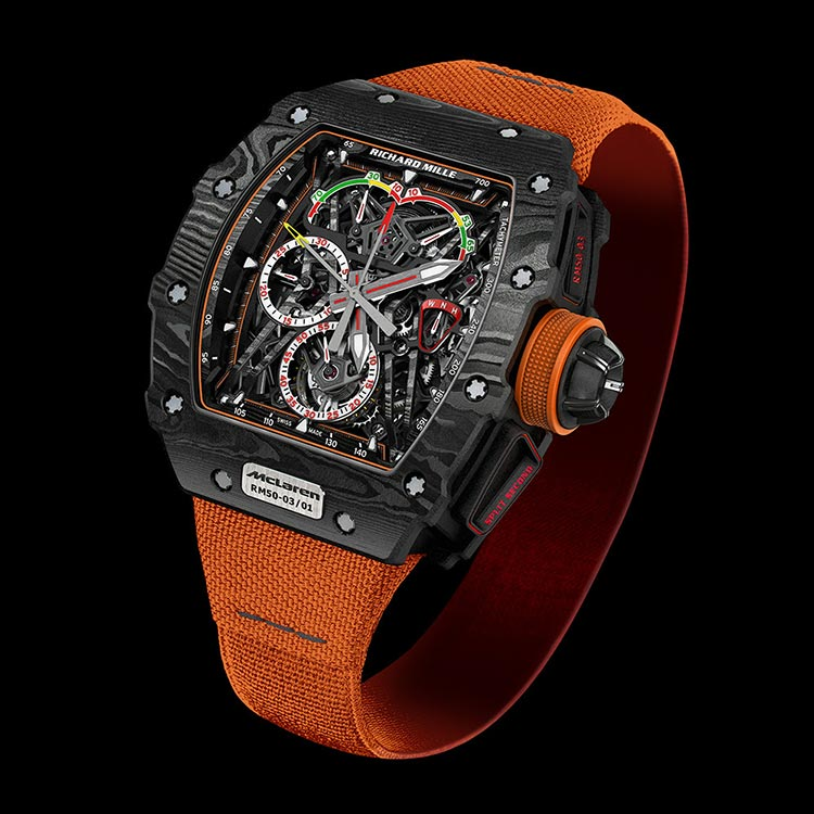 Richard Mille RM 50-03 Tourbillon Split-Seconds Chronograph Ultralight McLaren F1