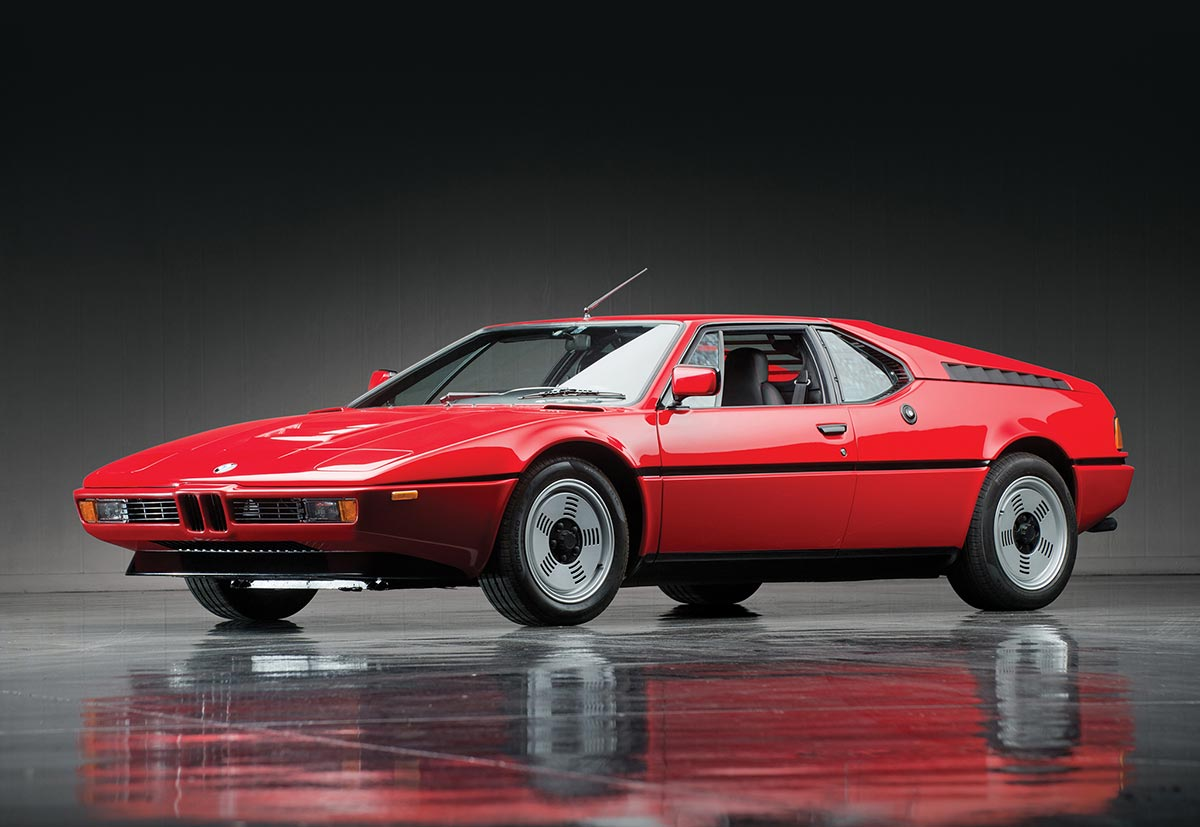 BMW M1 from 1979
