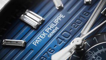 Patek Philippe Nautilus ref. 5976/1G and ref. 5711/1P