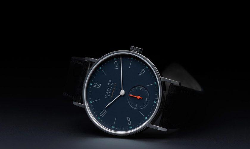 Nomos:Tangente Neomatik Nachtblau
