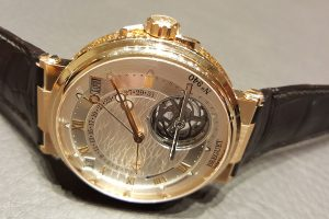 Breguet's masterpiece of the year is a watch with constantly running equation of time, a perpetual calendar and a Tourbillon in a renewed Marine case.