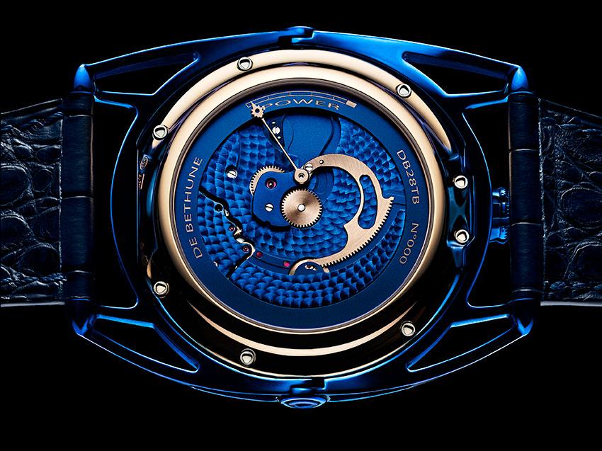De Bethune DB28 Kind of Blue Tourbillon