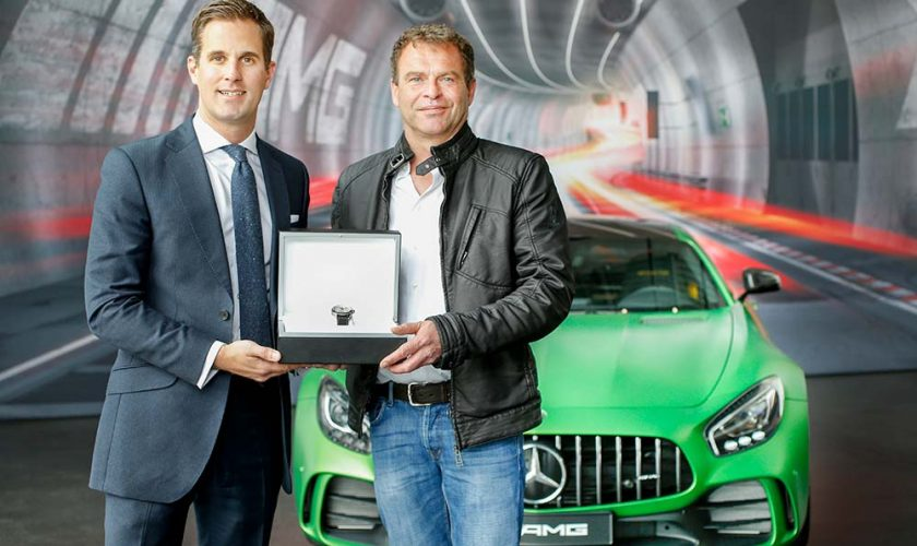 IWC CEO Christoph Grainger-Herr and AMG CEO Tobias Moers