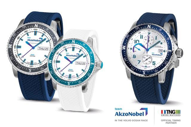 team-akzonobel-and-tng-swiss-watches-volvo-ocean-race-partners-collection