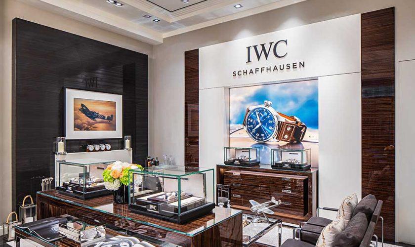 IWC Schaffhaussen boutique Canada
