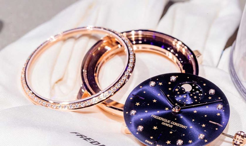 The Slimline Moonphase Stars Manufacture
