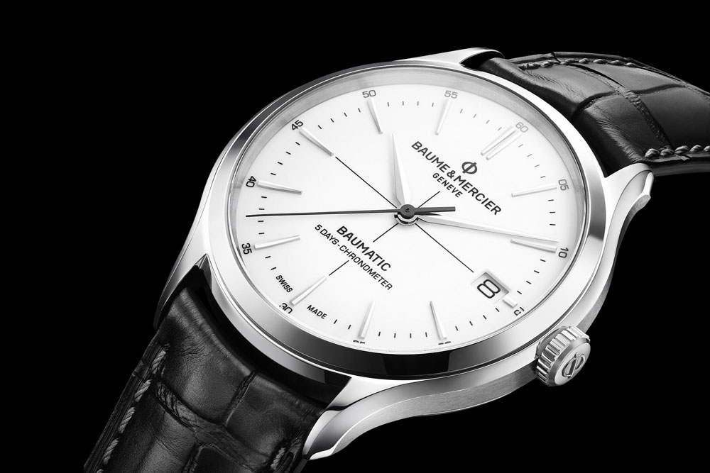 Baume & Mercier produced their first in-house made COSC certified chronometer