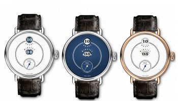 IWC presented the Tribute to Pallweber Edition 150 Years wristwatch