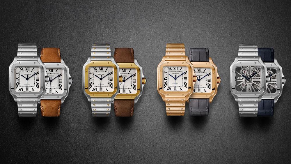 Santos de Cartier Skeleton watch