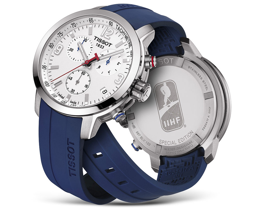 Tissot, one of the brands that recorded growth in value and volume.