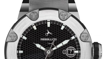 Rebellion Predator S 3 Hands Titanium