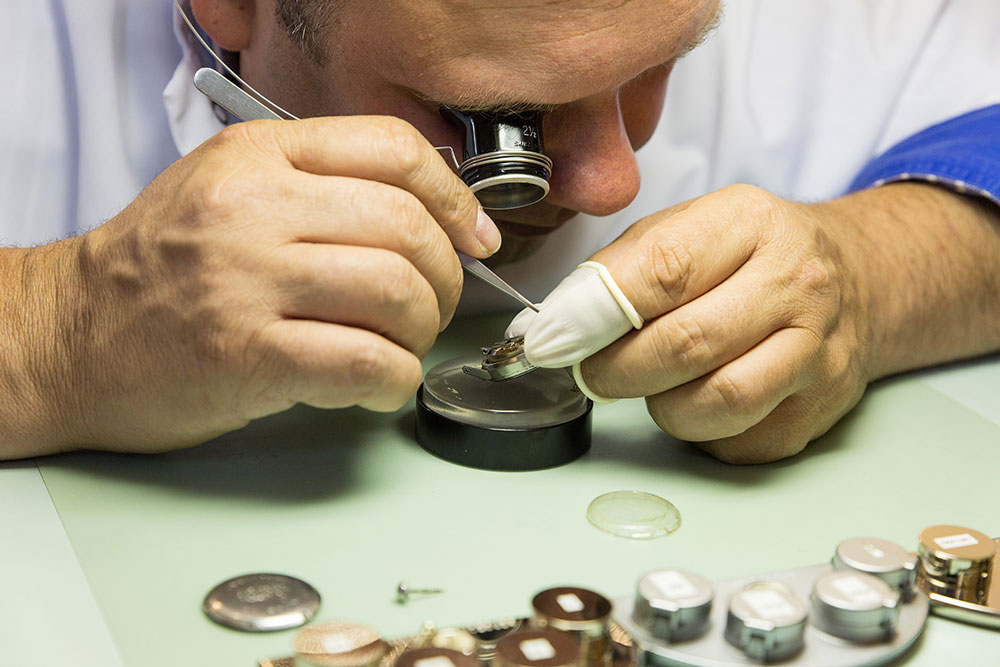 Dutch watchmaker Kalle Slaap