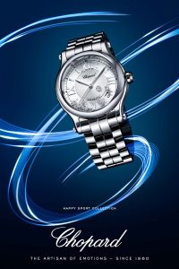 Chopard Happy Sport Advertisement