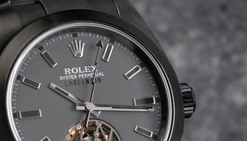 Rolex Milgauss Tourbillon Label Noir