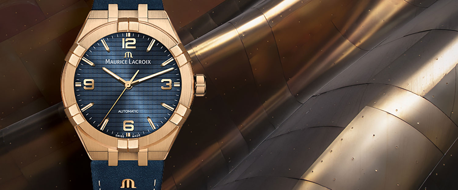 Maurice Lacroix Goes Bronze With New Aikon