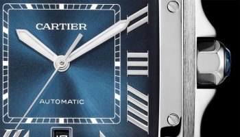 Cartier Santos Gradient Blue Dial