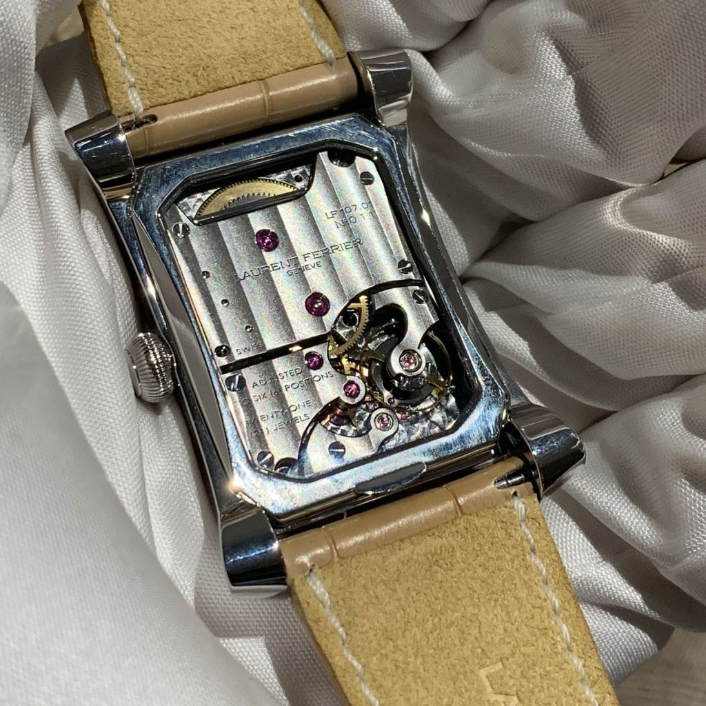 Laurent Ferrier Bridge One back